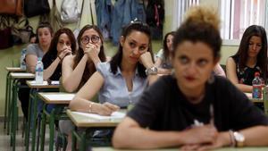 Empiezan las oposiciones para 30.562 maestros y profesores.