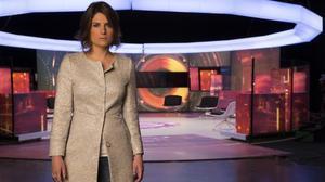 Ariadna Oltra, presentadora del programa de TV-3 '.CAT'.