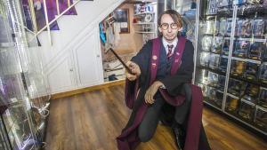 El andén 9 y 3/4 de Harry Potter se instala en las Galeries Maldà