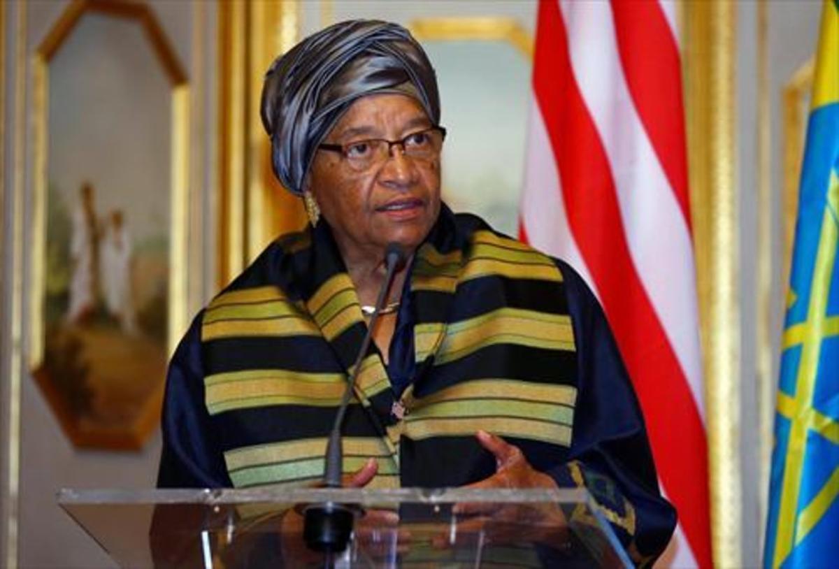 Nobel de la Paz 8Ellen Johnson Sirleaf, en una visita a Etiopía.