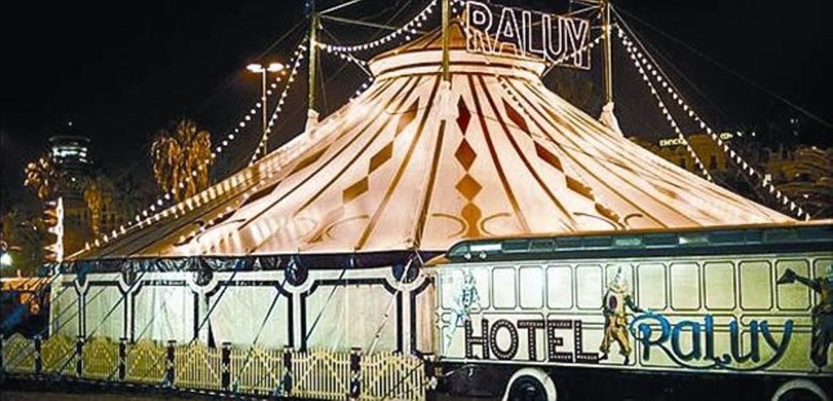 El Circ Raluy ofrece las últimas funciones de 'Allegro'.