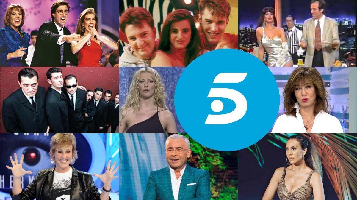 Algunos de los programas más emblemáticos de los 30 años de Telecinco.