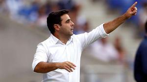 David Gallego, en un partido del Espanyol de principios de temporada.