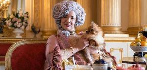 Golda Rosheuvel, la reina Carlota de Inglaterra en la serie 'Los Bridgerton'.