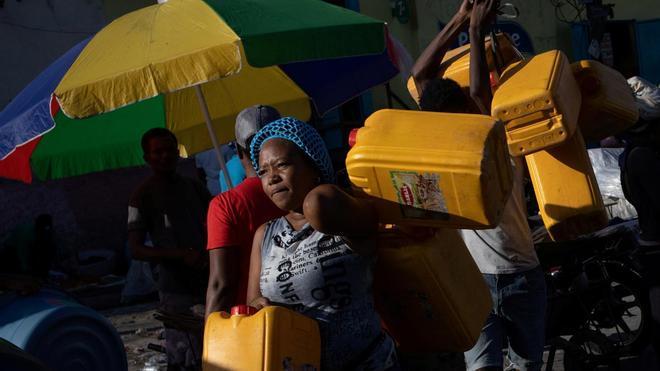La crisis del combustible bloquea los hospitales en Haití