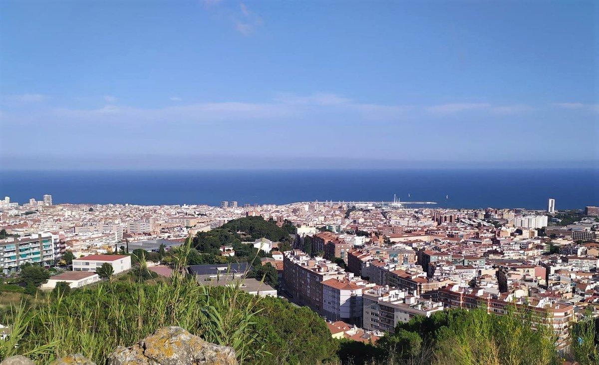 Vista aérea de Mataró.