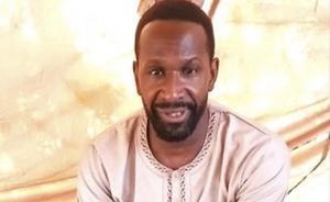 El periodista francés Olivier Dubois, secuestrado en Mali por un grupo leal a Al Qaeda.