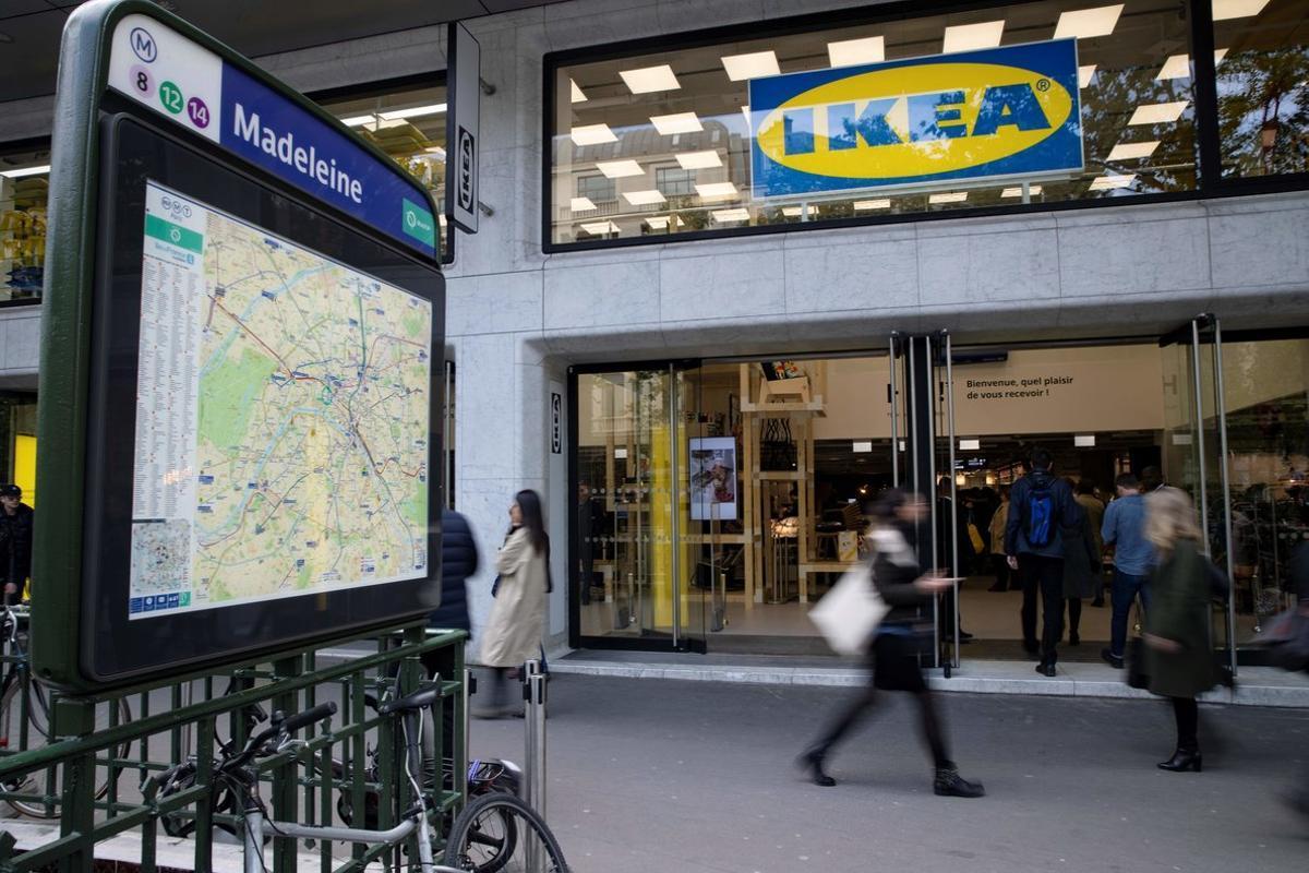 El nuevo Ikea de La Madeleine, en París.
