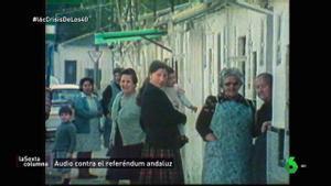 1980, referéndum en Andalucía, no votes.