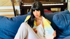 La actriz Jameela Jamil.