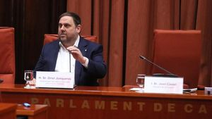 Junqueras nega Vidal i l'oposició el commina a demandar-lo