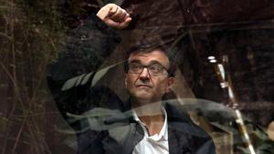 Javier Cercas, en la presentación de 'Independencia', a principios de marzo.