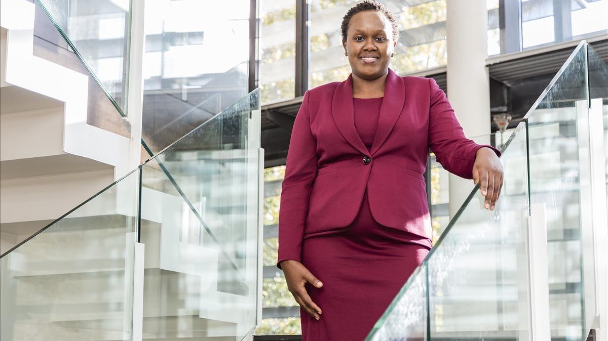 Dorcas Muthoni, tecnologa africana investida doctora honoris causa por la Universitat Pompeu Fabra