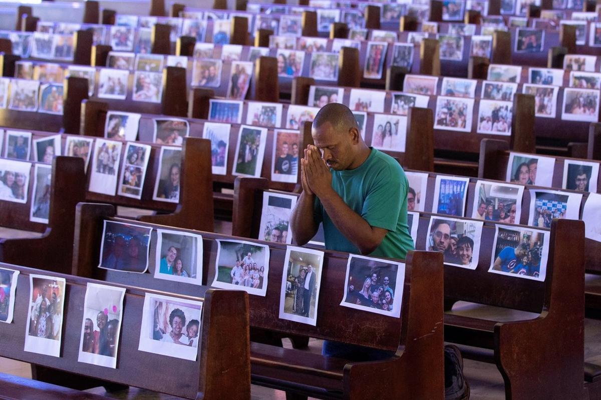 Brasil es el segundo país más golpeado por la pandemia en América.