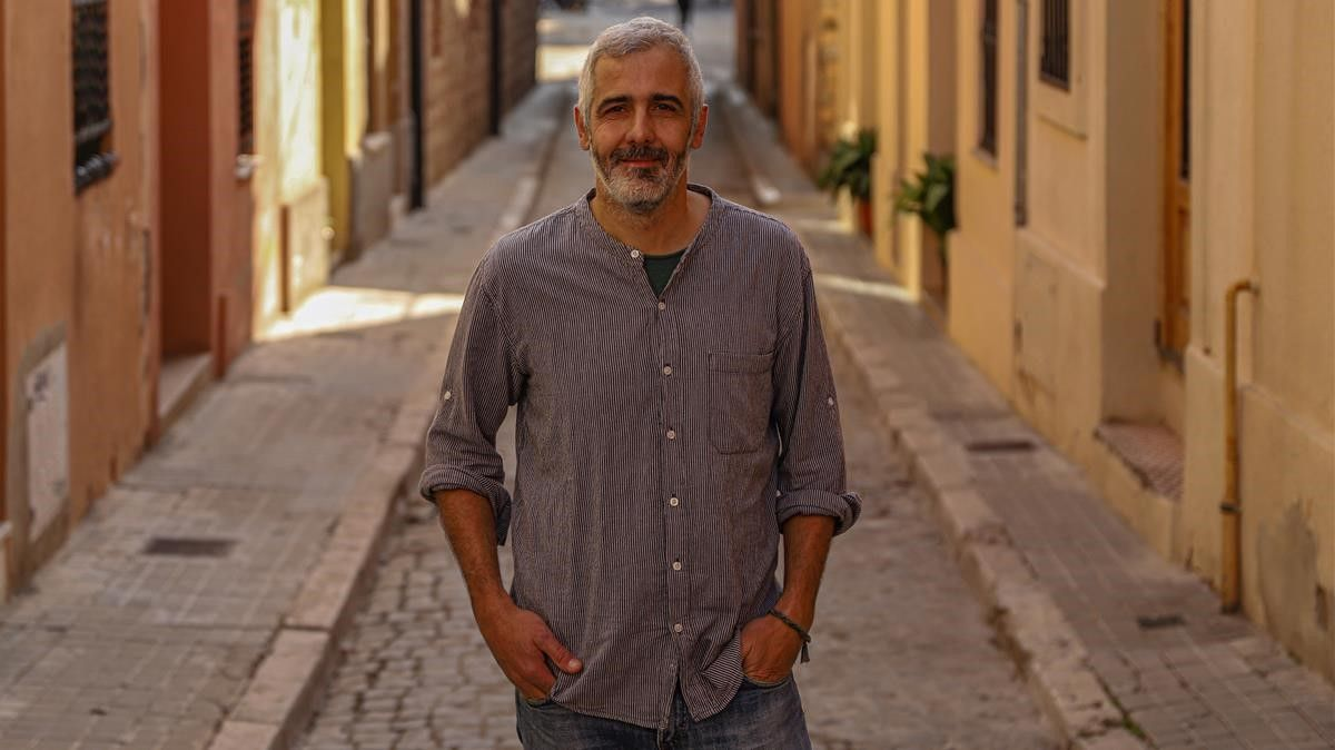 Barcelona 18 11 2020 Entre todos Retrat a Ricard Espelt  Doctor en Societat de la Informacio  AUTOR  JORDI OTIX