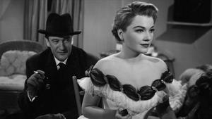 Sanders, en una escena de 'Eva al desnudo' (1950), papel por el que ganó el Oscar a mejor actor de reparto.