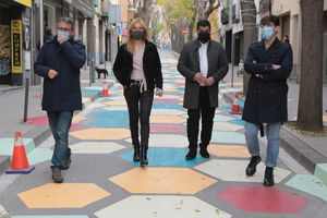 Rubí àmplia l'illa de vianants amb els carrers Cervantes, Llobateras, Balmes i Doctor Turró