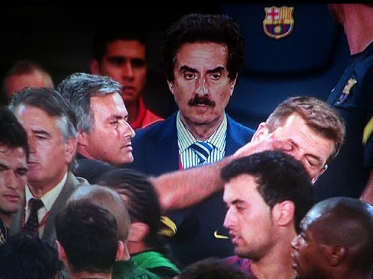 Mourinho mete el dedo en el ojo a Tito Vilanova.