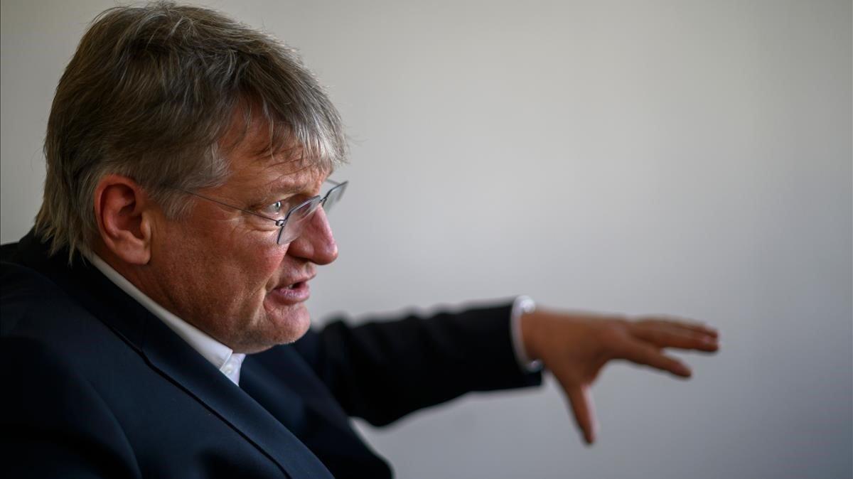 El copresidente de AfD Jörg Meuthen, en una imagen de archivo.