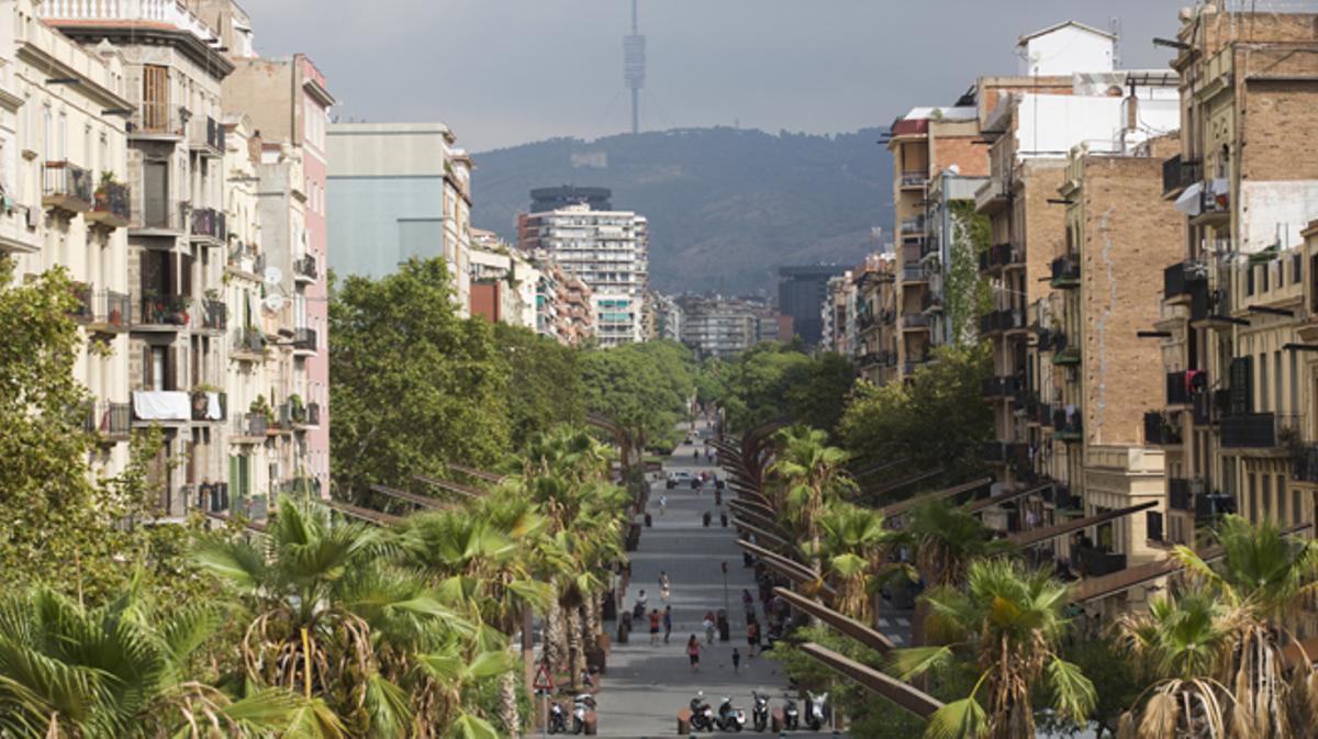 Barcelona estrena este sábado los primeros jardines aéreos de la ciudad.