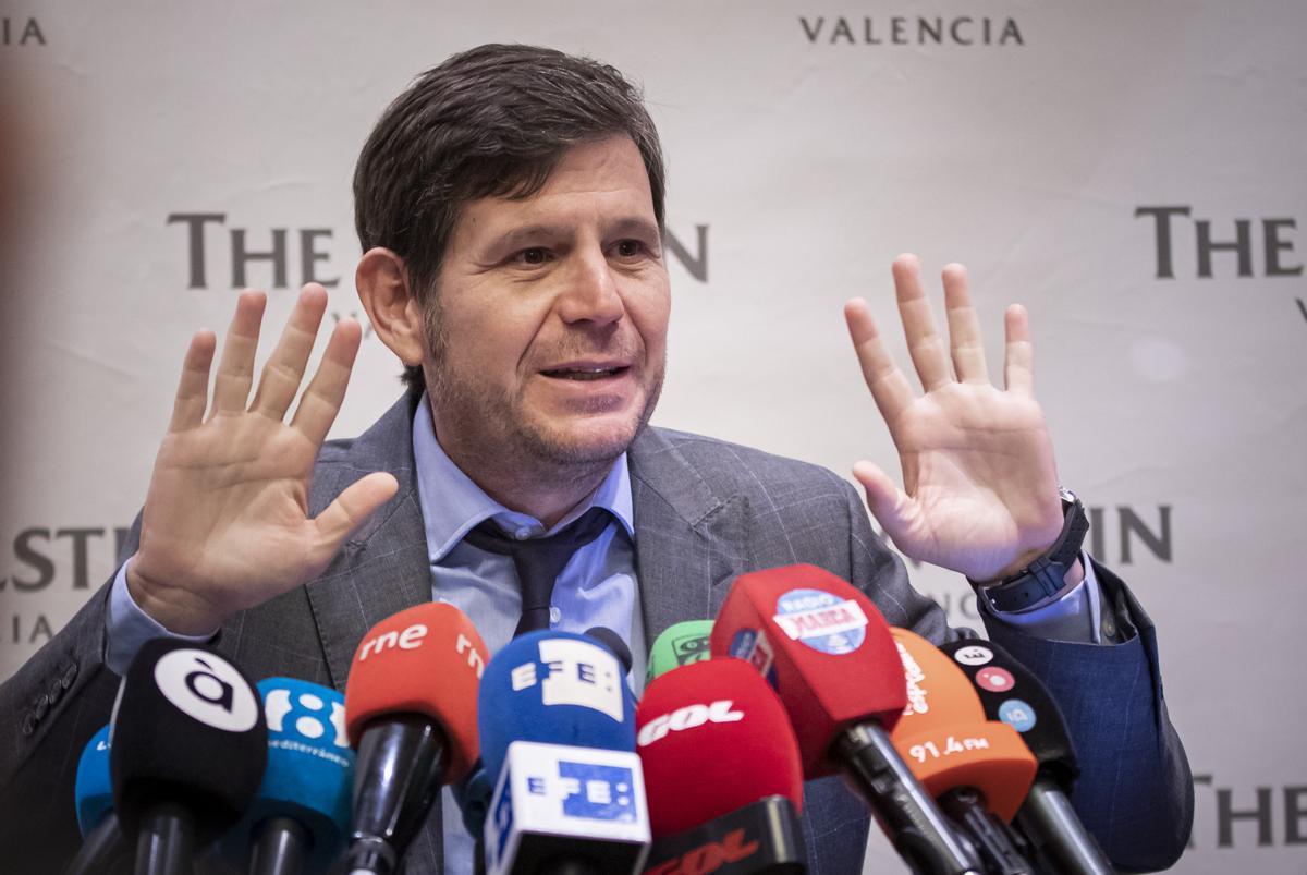 Mateo Alemany, en sus tiempos en el Valencia.