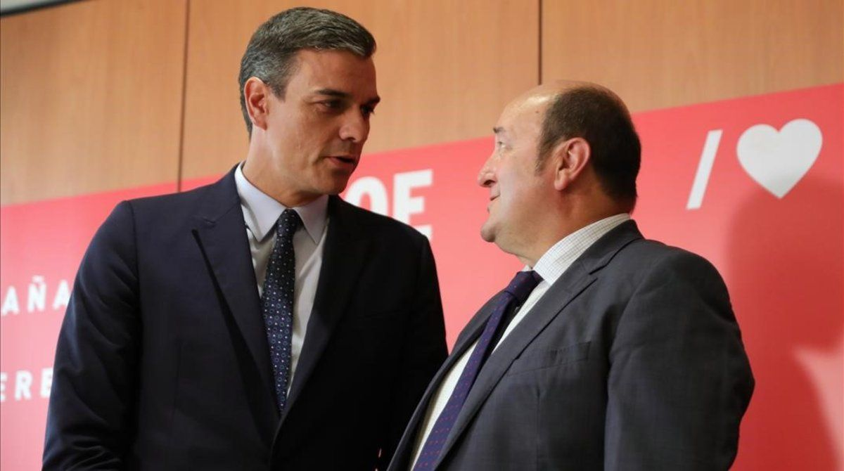El PNB va intentar intervenir sense èxit entre Sánchez i Iglesias