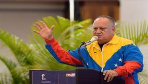 Diosdado Cabello,presidente de la Asamblea Nacional Constituyente de Venezuela.