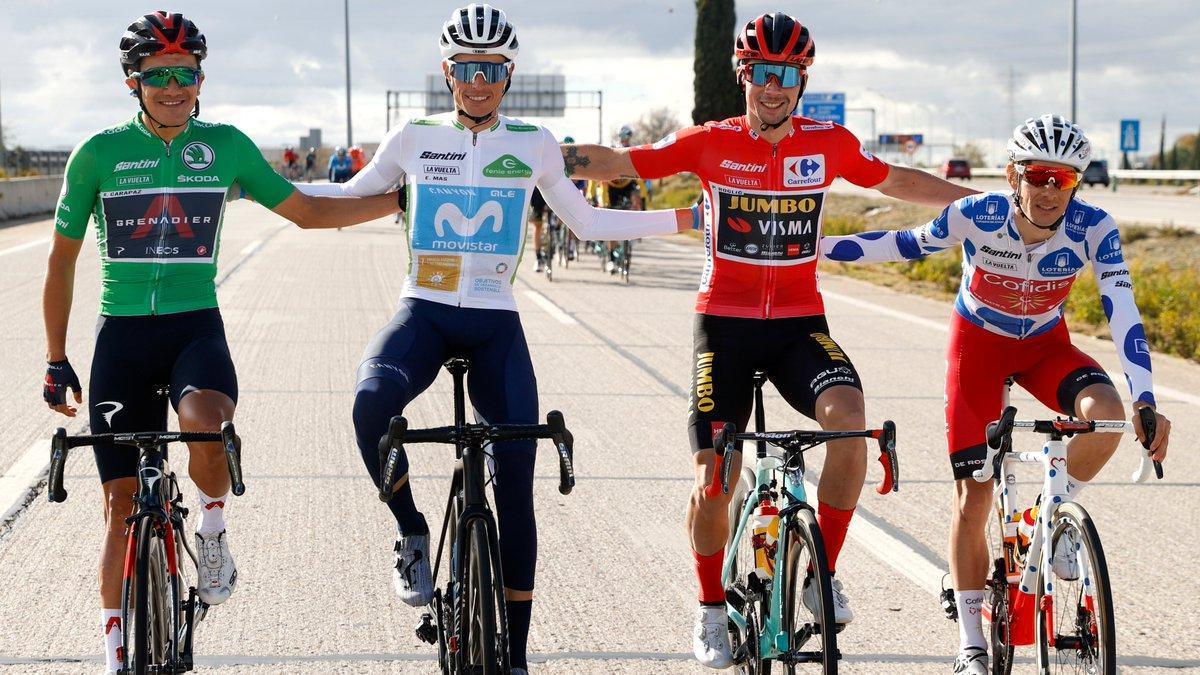 Los líderes de la pasada edición de la ronda española.
