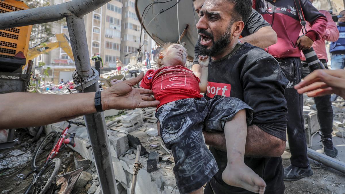 El ministro palestino de Salud cifra en 26 los fallecidos en los bombardeos israelíes de este domingo