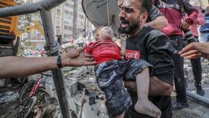 El ministre palestí de Salut xifra en 26 els morts en els bombardejos israelians d'aquest diumenge