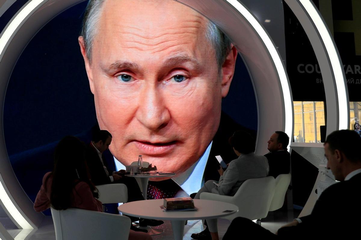 El presidente ruso, Vladimir Putin, en una foto del pasado mes de junio.