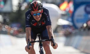 Tao Goeghegan Hart, ganador de la penúltima etapa del Giro.