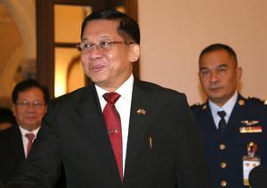 El jefe de las Fuerzas Armadas, Min Aung Hlaing.