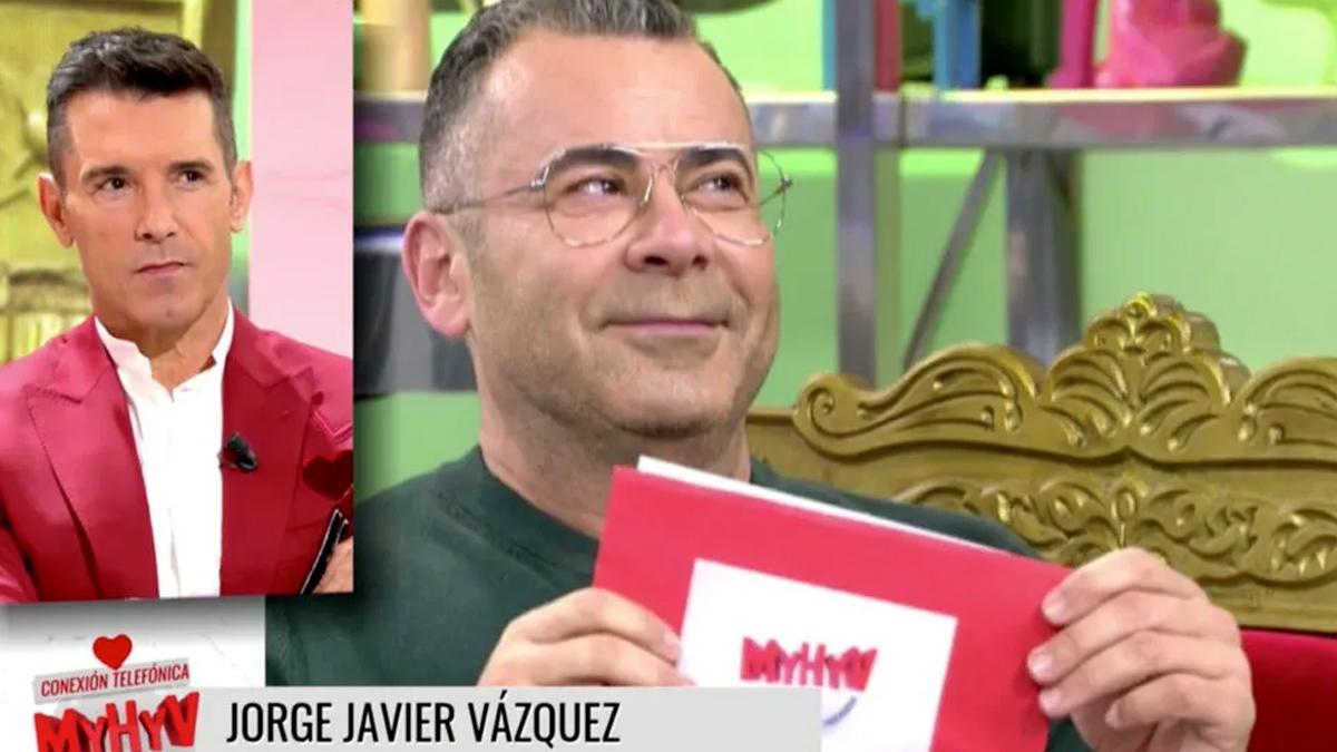 Jorge Javier Vázquez se convierte en el primer tronista gay de 'Mujeres y hombres y viceversa'