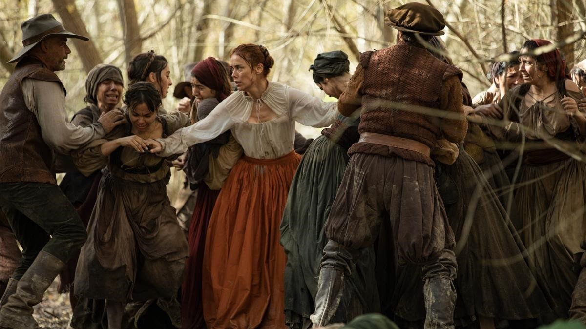 Un fotograma de la segunda temporada de 'La peste'