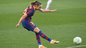 DEPORTES Graham Hansen  Barca femenino FC BARCELONA