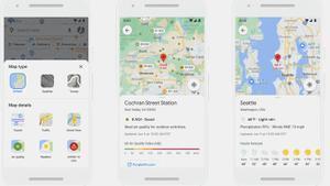 Nuevas funciones en Google Maps.