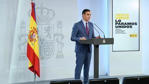 Sánchez presenta el Govern de la «recuperació», amb més dones, més jove i més «pròxim»