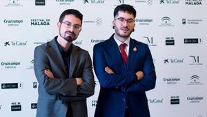 Carlo Padial y Wismichu, el duo que está detrás de 'Vosotros sois mi película'.
