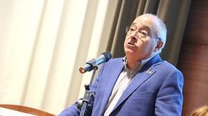 El 'conseller' de Ensenyament, Josep Bargalló, en las jornadas del Consell Escolar de Catalunya.
