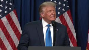 El presidente de Estados Unidos, Donald Trump, fue confirmado este lunes formalmente como candidato republicano a las elecciones del próximo 3 de noviembre, en la votación de los delegados durante la convención del partido, inaugurada en Charlotte (Carolina del Norte).