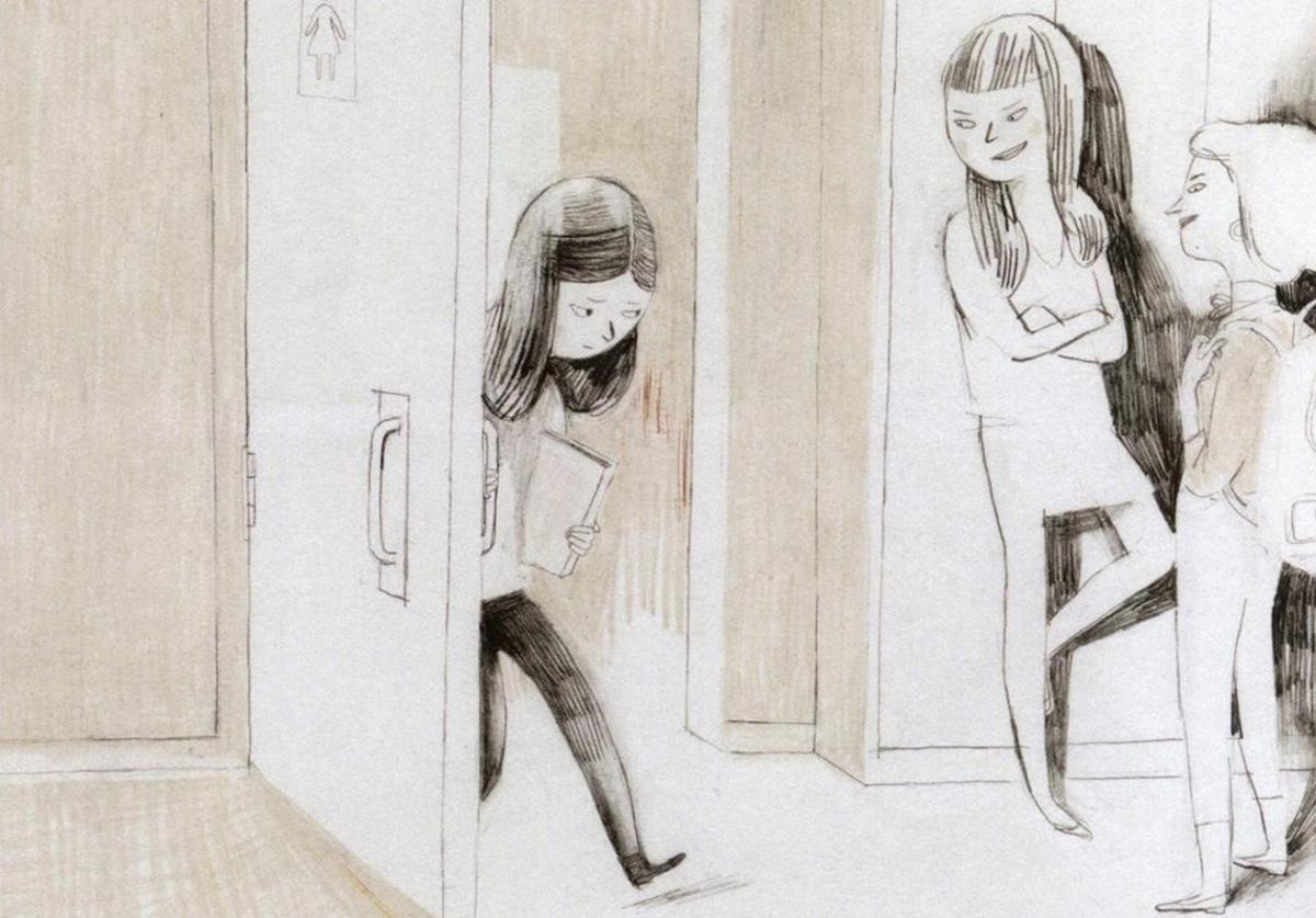 Viñeta del cómic 'Jane, el zorro & yo', de Fanny Britt e Isabelle Arsenault.
