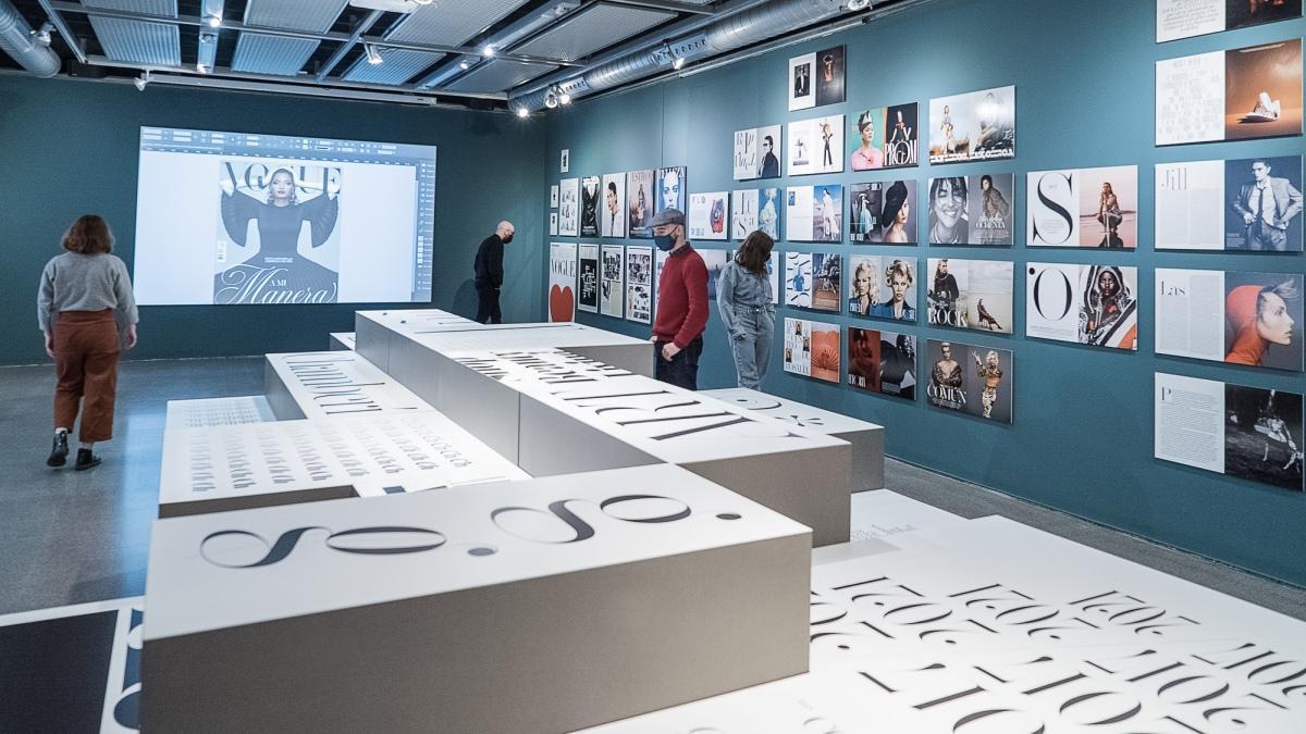 Aspecto general de la exposición 'Job Title: Art Director'.
