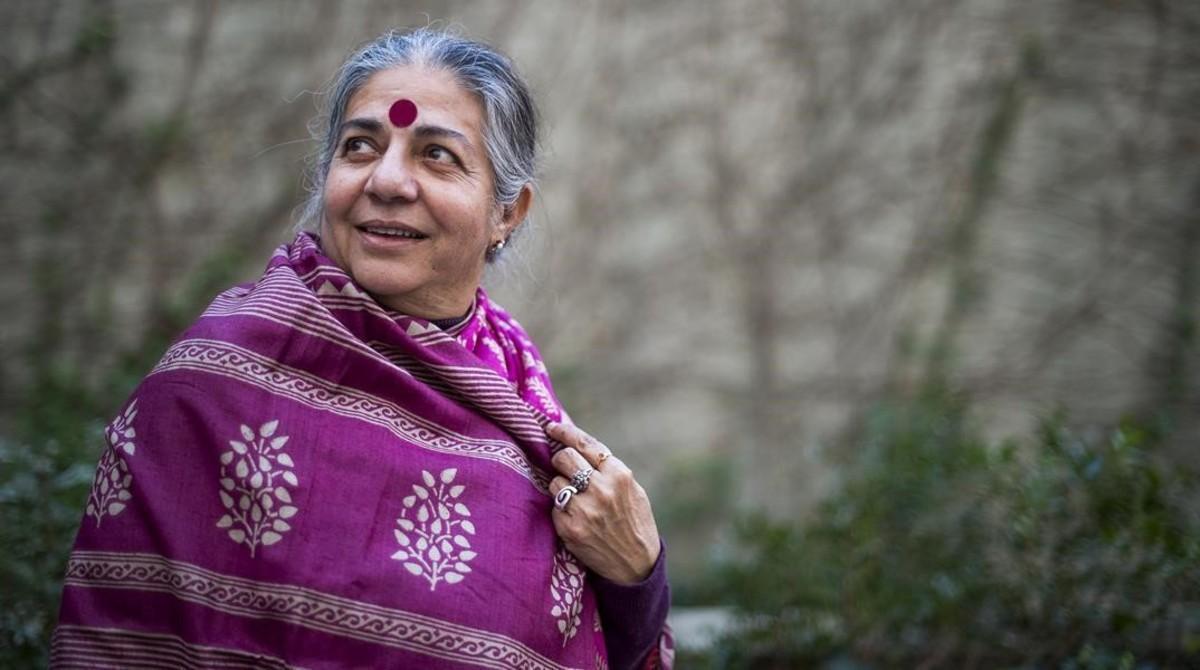 """Vandana Shiva: """"Hoy la revolución empieza en la cocina"""""""