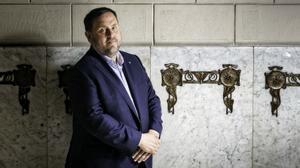 Entrevista a Oriol Junqueras, vicepresidente de la Generalitat de Catalunya.