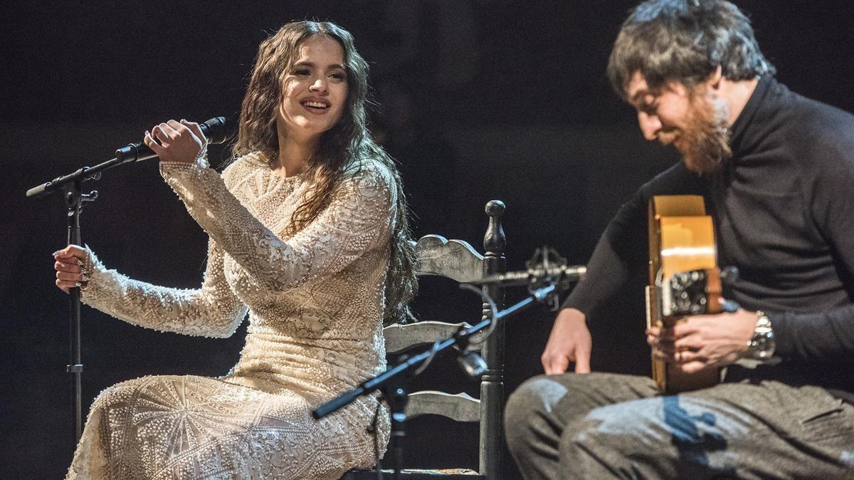 Rosalía y Raül Fernández, 'Refree', en el Palau de la Música