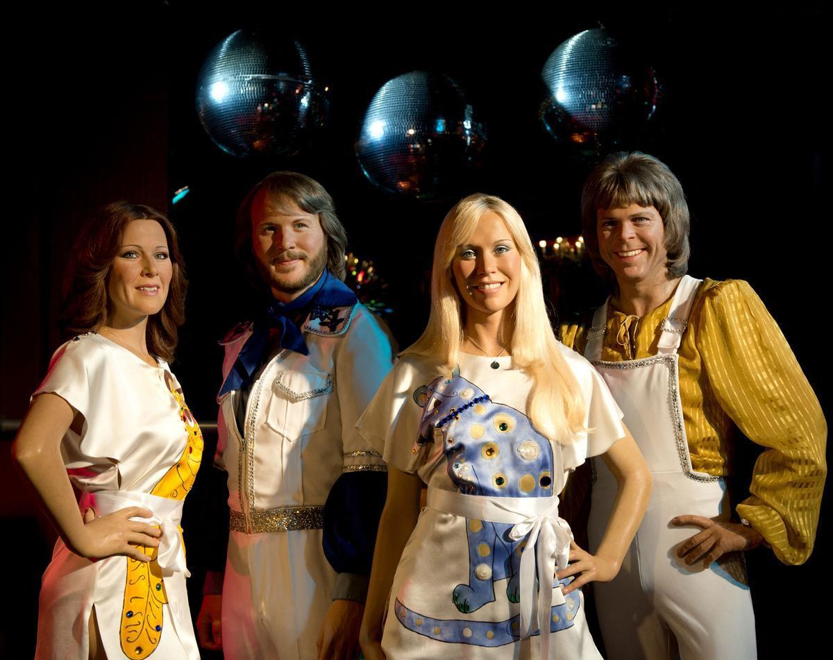 El grupo sueco Abba.