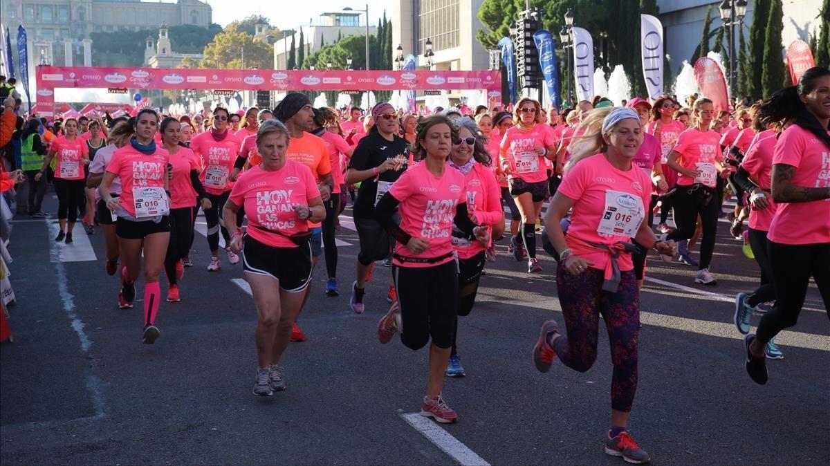 Barcelona vuelve a teñirse de rosa frente al cáncer de mama