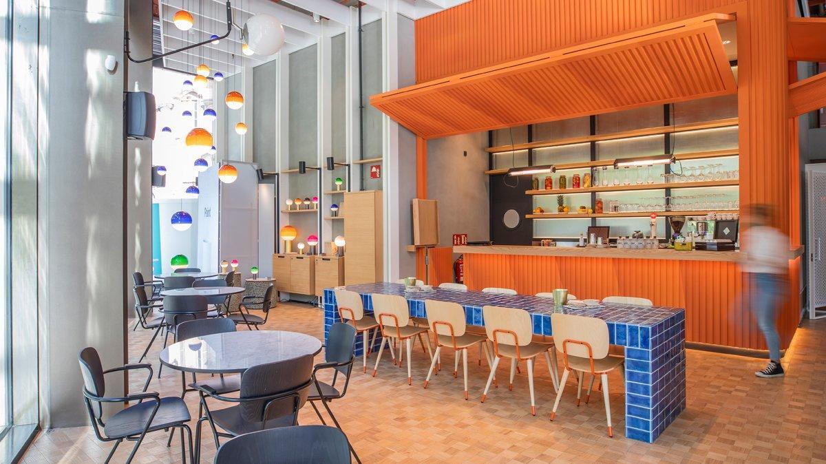 El café restaurante Casa Seat, uno de los escenarios del BNEW.