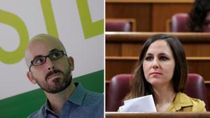 Nacho Álvarez i Ione Belarra, de Podem, seran secretaris d'Estat